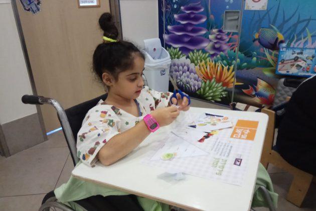 פעילות לילדים מאושפזים